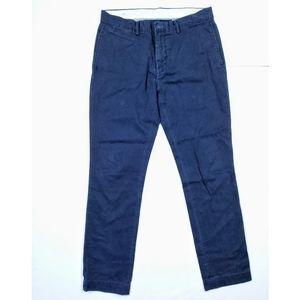 Polo Ralph Lauren Slim Fit Chinos Khaki Navy Pants